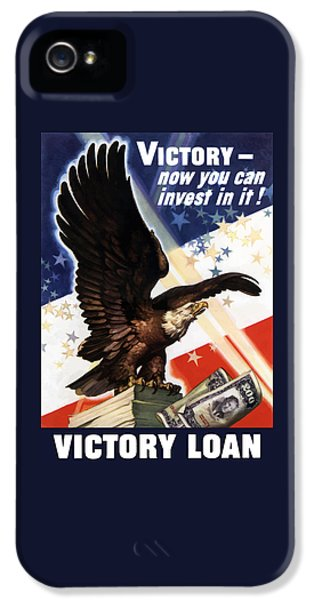 Victory Loan Bald Eagle IPhone 5 Case by War Is Hell Store