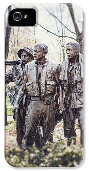 Vietnam Veterans Statue IPhone 5 Case