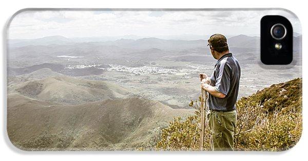 View From Mt Zeehan Tasmania IPhone 5 Case
