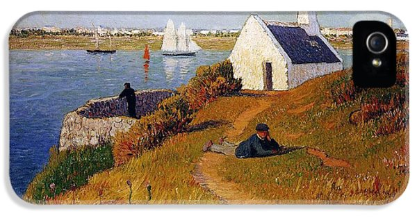 View Of Lorient In Brittany IPhone 5 Case by Henry Moret