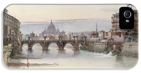 View Of Rome IPhone 5 Case by I Martin