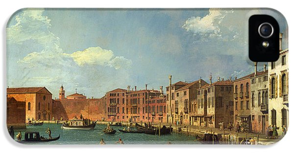 View Of The Canal Of Santa Chiara IPhone 5 Case