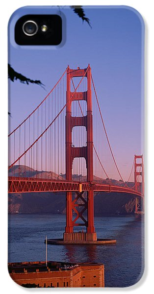 View Of The Golden Gate Bridge IPhone 5 / 5s Case by American School