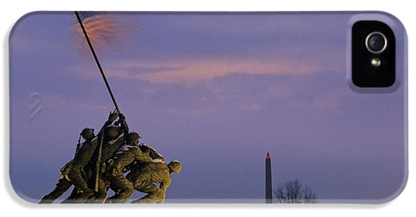View Of The Iwo Jima Monument IPhone 5 Case