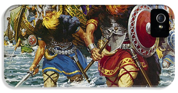 Vikings IPhone 5 / 5s Case by Jack Keay