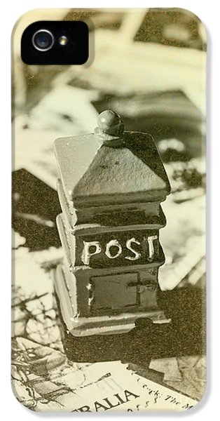 Vintage Australian Postage Art IPhone 5 Case by Jorgo Photography - Wall Art Gallery