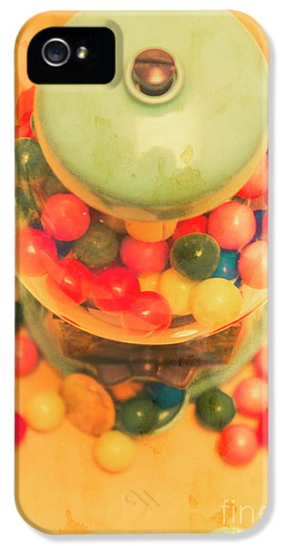 Vintage Candy Machine IPhone 5 Case by Jorgo Photography - Wall Art Gallery