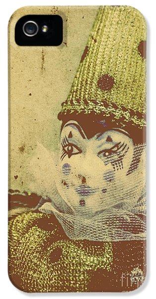 Vintage Circus Postcard IPhone 5 Case