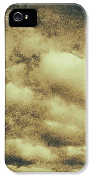 Damage iPhone 5 Case - Vintage Cloudy Sky. Old Day Background by Jorgo Photography - Wall Art Gallery