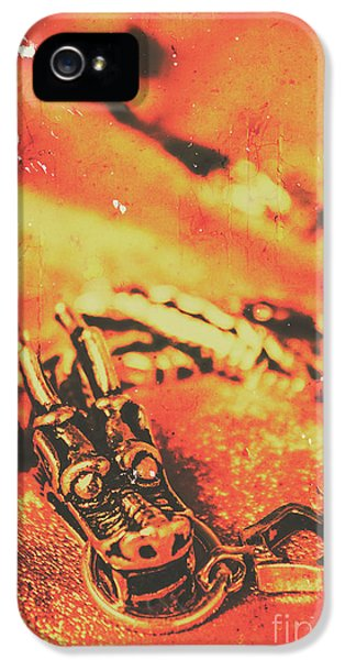 Dragon iPhone 5 Case - Vintage Dragon Charm by Jorgo Photography - Wall Art Gallery