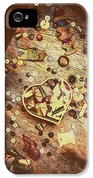 Vintage Dressmakers Table IPhone 5 Case
