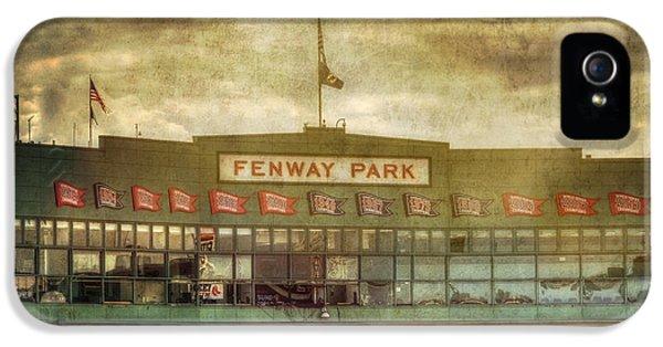 Vintage Fenway Park - Boston IPhone 5 Case by Joann Vitali