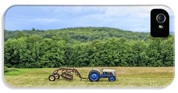 Etna iPhone 5 Case - Vintage Ford Tractor Tilt Shift by Edward Fielding