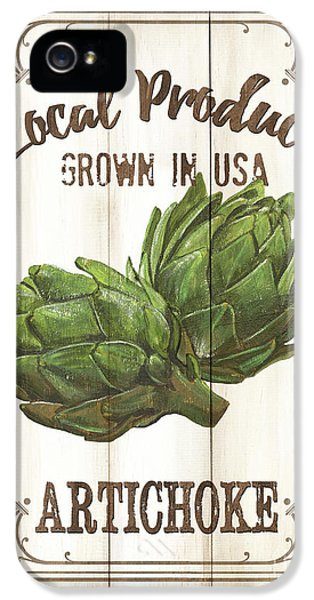 Vintage Fresh Vegetables 2 IPhone 5 Case by Debbie DeWitt