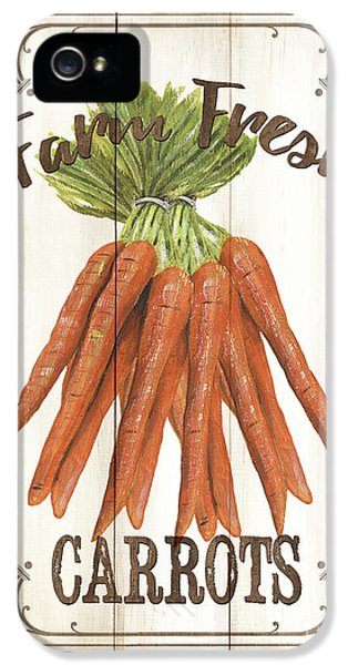 Vintage Fresh Vegetables 3 IPhone 5 Case by Debbie DeWitt