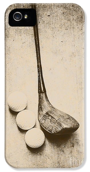 Golf iPhone 5 Case - Vintage Golf Artwork by Jorgo Photography - Wall Art Gallery