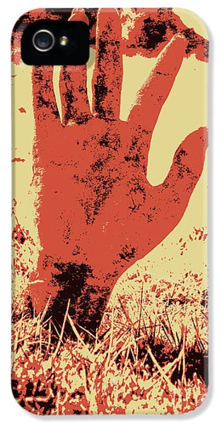 Vintage Horror Poster Art  IPhone 5 Case by Jorgo Photography - Wall Art Gallery