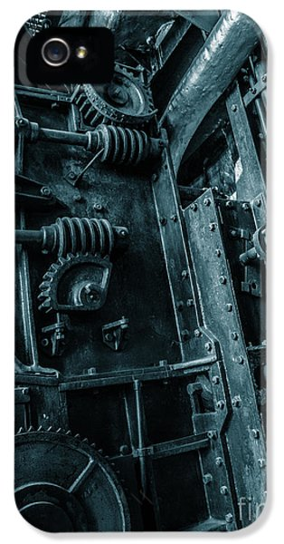 Vintage Industrial Pipes IPhone 5 Case by Carlos Caetano