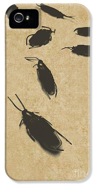 Vintage Infestation IPhone 5 Case by Jorgo Photography - Wall Art Gallery