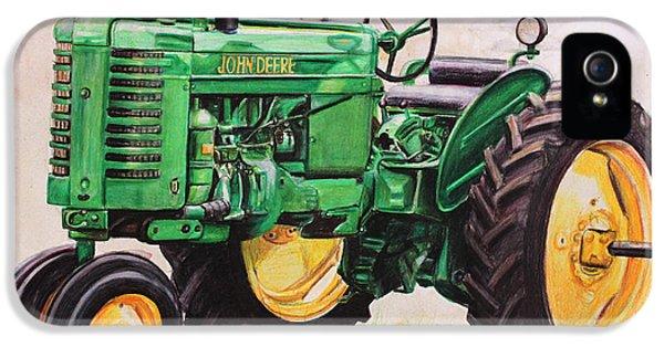 Vintage John Deere Tractor IPhone 5 Case