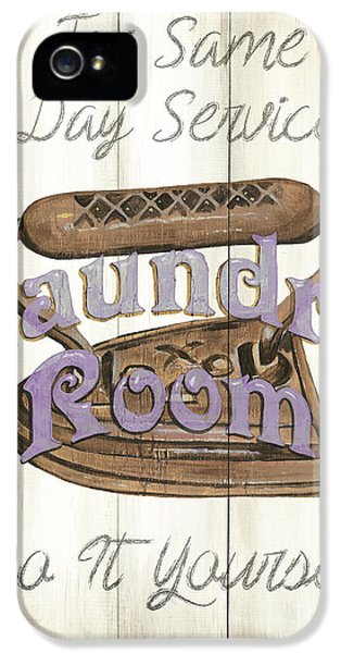 Vintage Laundry Room 1 IPhone 5 Case