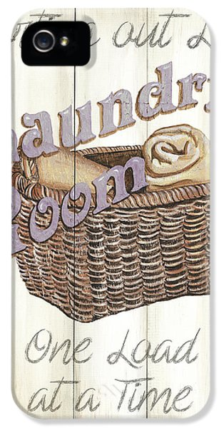 Vintage Laundry Room 2 IPhone 5 Case