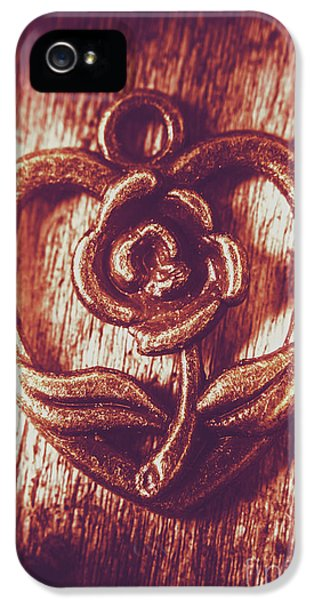 Pendant iPhone 5 Case - Vintage Ornamental Rose by Jorgo Photography - Wall Art Gallery