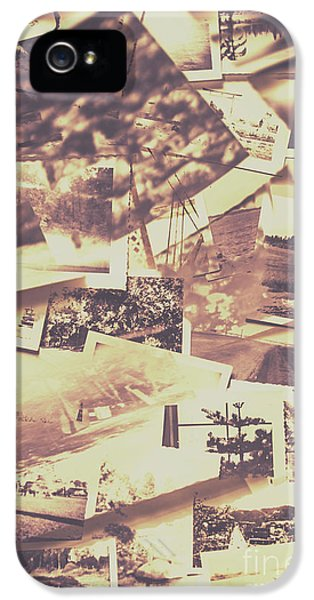 Vintage Photo Design Abstract Background IPhone 5 Case by Jorgo Photography - Wall Art Gallery