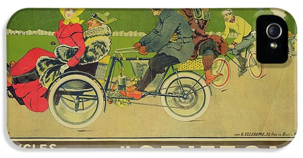 Vintage Poster Bicycle Advertisement IPhone 5 Case by Walter Thor
