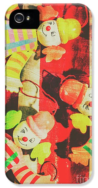 IPhone 5 Case featuring the photograph Vintage Pull String Puppets by Jorgo Photography - Wall Art Gallery