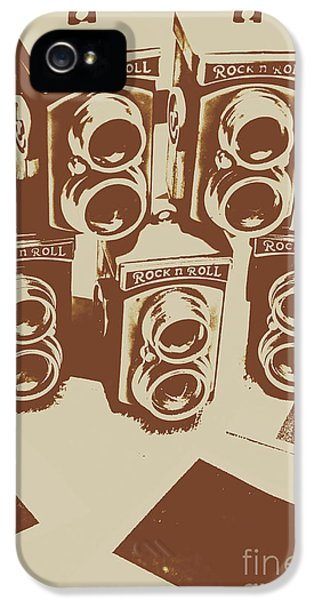 Vintage Snapshots And Old Cameras IPhone 5 Case