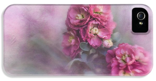 Vintage Stock Flower II IPhone 5 Case