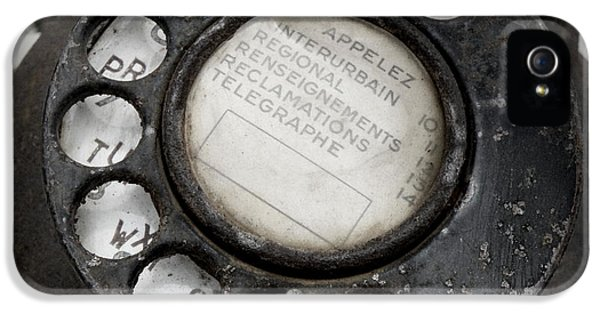 Communication iPhone 5 Cases - Vintage Telephone iPhone 5 Case by Lainie Wrightson