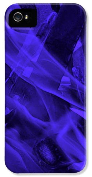 iPhone 5 Case - Violet Shine I I by Orphelia Aristal