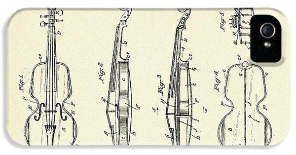 Violin iPhone 5 Case - Violin-1921 by Pablo Romero