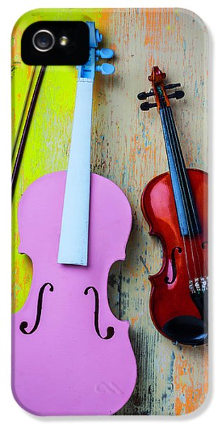 Violin Couple IPhone 5 Case