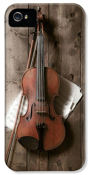 Music iPhone 5 Case - Violin by Garry Gay