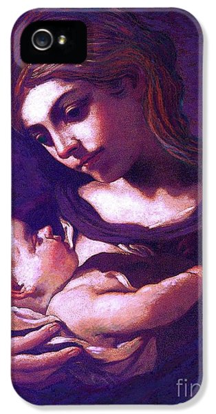 Virgin Mary And Baby Jesus, The Greatest Gift IPhone 5 Case