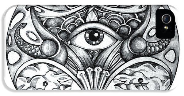 Vision IPhone 5 Case by Shadia Derbyshire