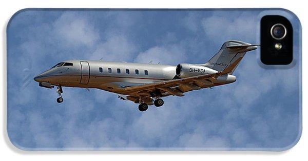 Jet iPhone 5 Case - Vista Jet Bombardier Challenger 300 1 by Smart Aviation