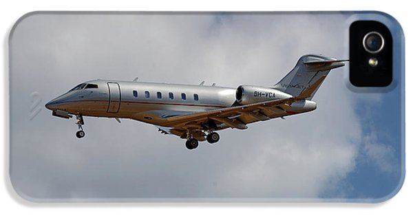 Jet iPhone 5 Case - Vista Jet Bombardier Challenger 300 5 by Smart Aviation