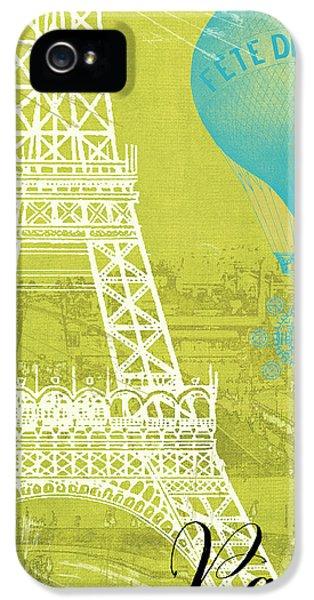 Paris iPhone 5 Case - Viva La Paris by Mindy Sommers