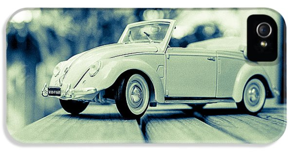 Vw Beetle Convertible IPhone 5 Case by Jon Woodhams