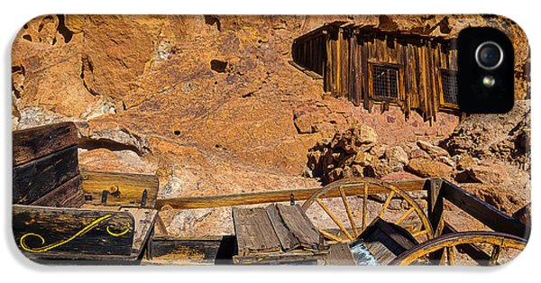Wagon And Miners Hut IPhone 5 Case