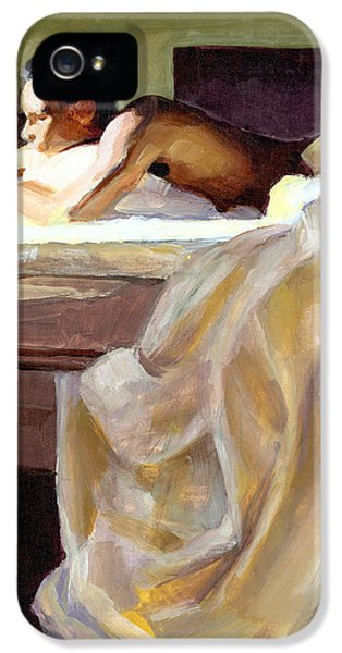 Contemplative iPhone 5 Cases - Waking Up iPhone 5 Case by Douglas Simonson