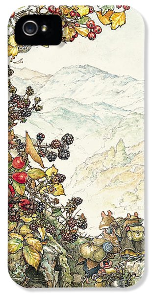 Walk To The High Hills IPhone 5 Case