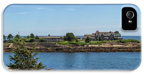 Walkers Point Kennebunkport Maine IPhone 5 / 5s Case by Brian MacLean