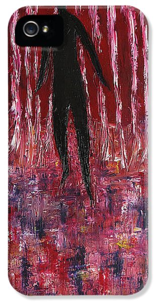 Walking Away IPhone 5 Case by Marianna Mills