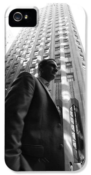 Wall Street Man II IPhone 5 Case