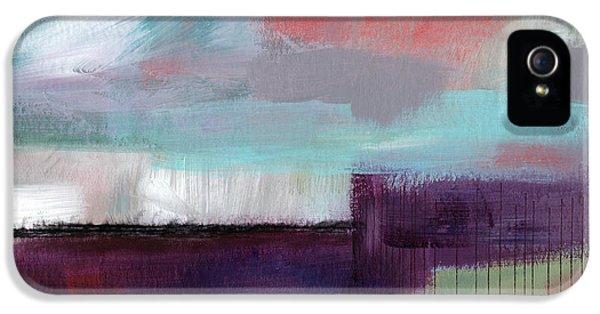 Wanderlust 22- Art By Linda Woods IPhone 5 Case by Linda Woods